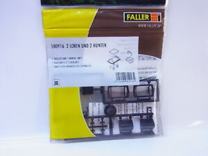 Lot 16834 Faller Ho 180916 2 X Trolley Trams for The Model Railway New Boxed