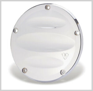 Chrome Scalloped Debry Cover by Arlen Ness # 03-503 Harley Twin Cam 1999-2016