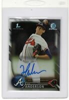 "2016 Bowman Chrome  Prospect Auto. ""Ian Anderson"" RC ""On Fire"" @*Perfect*@ LOOK"