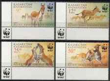 KAZAKHSTAN 2001 - SET ASIAN WILD HORSES MNH