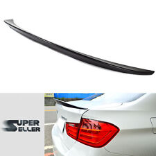 High Kick Performance Trunk Spoiler For BMW F30 F80 M3 4D Sedan Unpainted ABS 16