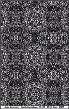 Scale Motorsport 1855 1/24 Comp. Fiber Dazzle Camouflage Decal Black on Clear