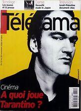 TELERAMA 2003: QUENTIN TARANTINO_ALAIN BASHUNG_JULIETTE GRECO_PHILIPPE DECOUFLE