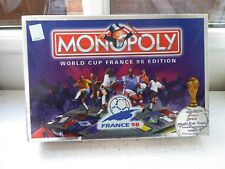 *MONOPOLY : WORLD CUP FRANCE 98 EDITION* Board Game