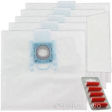 5 x sacchetti per aspirapolvere G per Bosch BBZ BSG MegaAir SUPERTEX GXXL GXL + Filtro + Fresca