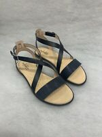 Ladies Clarks Bay Rosie Navy Interest Sandals Size 7 Was £49
