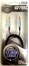 G&BL 6597 CAVO iTECH Ipod Iphone MP3 JACK / JACK 3,5mm lung 1,80m top