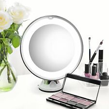 7X Magnifying Makeup Cosmetic Mirror LED Lighted Portable Table Vanity Bathroom
