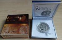 Palau 5 Dollars 2012 Treasures of the World Topaz Silber