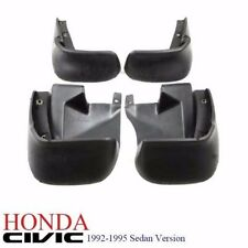 1 Set 92-95 Honda Civic 4dr EG9 Sedan FERIO Full Mud Splash Guard Mudflap NEW