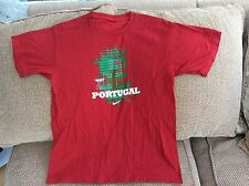 Nike Portugal Ronaldo No 7 T-Shirt Size 36 Inch Chest In Good Condition