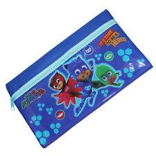 Children's Character 20.5x12cm PVC Front Pencil Case - PJ Masks