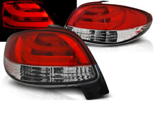LED REAR TAIL LIGHTS LDPE20 PEUGEOT 206 1998 1999 2000 - 2017 RED WHITE