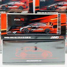 INNO64 1/64 Honda Civic FD2 Type-R FD Club Singapore with extra wheels set TOYZ