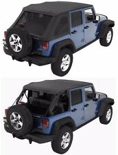 Bestop Trektop NX Combo Sunrider Soft Top w/ Hardware 07-17 4dr Jeep Wrangler JK