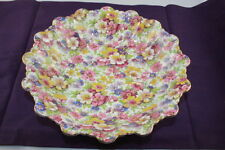 Vintage James Kent  Du Barry Chintz Floral 20.5cm Round Bowl