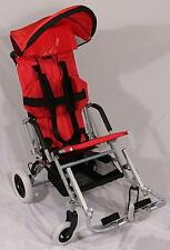 """New Childs/Adults Special Needs Pediatric Stroller Wheelchair 16-18""""seat/150 lbs"""