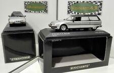 Minichamps 1:43 Citroen CX Break 1980 silver Hearse Corbeillard Leichenwagen