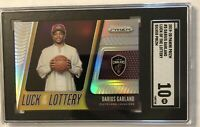 2019-20 Prizm Darius Garland Rookie Luck of the Lottery SILVER RC SGC 10 GEM MNT