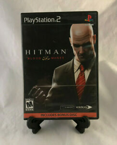 Hitman: Blood Money (Sony PlayStation 2, PS2 2006) Tested - Missing Manual