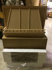 "36"" Omega National Range Hood with Liner and Galley Rail- R1136OUF1-Oak"