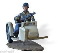 Soldados de Plomo en Moto 1:30 FALLCHIRMJAGERS SIDECAR ZÜNDAPP KS 750 SMI037