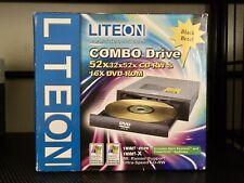 LITEON COMBO DRIVE CD-RW & DVD-ROM BLACK