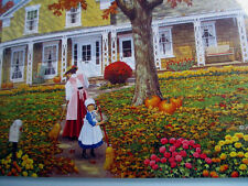 """300 Piece John Sloane Art Puzzle """"Helping Hands""""  Large Format New 18""""x 24"""""""