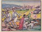 "ASKARI CAVALRYMEN ADVANCE ON ADOWA-1938 GUM INC ""horrors of war"" card/ VG"