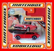 MATCHBOX 2020   1971 MGB COUPE    61 /100   NEU&OVP