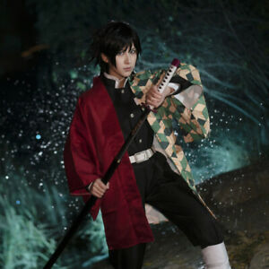 Demon Slayer: Kimetsu no Yaiba Tomioka Giyuu cosplay cape costumes full sets