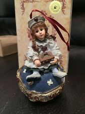 Boyds Bear Retired Dollstone Nurse Ornament Katherine.Kind Heart 1E