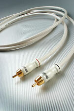 DH-Labs Silver Sonic White Lightning RCA Interconnect cable, 1.5m
