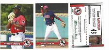 COMPLETE 2017 BILLINGS MUSTANGS TEAM SET MINORS R CINCINNATI W/ HUNTER GREENE