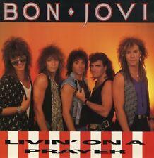 "Bon Jovi Livin On A Prayer, Wild In The Streets Uk 12"""