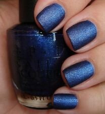Opi Rare Nail Polish Russian Navy Suede New Full Size