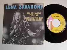 "LENA ZAVARONI : Ma! (He's making eyes at me) 7"" 45T 1974 French GT 46501 sleeve"