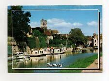 CLAMECY - Le Canal et la Collégiale St Martin  (A9000)