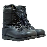 German Army Para Boots Genuine Army Military Biker Black High Leather Original