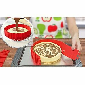 snake bake magic molds- set of 4 red
