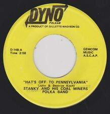 STANKY & HIS COAL MINERS {Polka} Hats Off To Pennsylvania / My Heart Is ♫HEAR