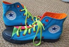 Converse All Stars High Top Sneakers Custom Colorful Brand New Sz 5.5 Men 7.5 W