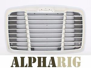 Freightliner Cascadia Front Grille Chrome OE Style 2008-2016 Grill w/ Bug Screen