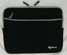 NEW rooCASE Neoprene Sleeve Case for your tablet 8.5 x 11 Black with zip pocket