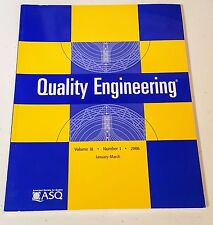 QUALITY ENGINEERING VOL 18 NO 1 2006 AMERICAN SOCIETY FOR QUALITY Marcel Dekker