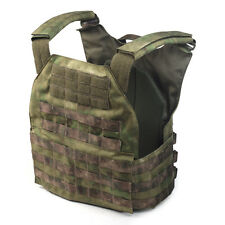 "Professional VEST SYSTEM PLATE CARRIER in A-TACS FG by ""Stich Profi"