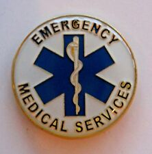 Quality EMT Pin Medical Emergency Rescue 911 Star of Life Tie Tack Medic Hat