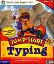JumpStart Typing Pc Cd kids learn to type on computer keyboard timed tests game!