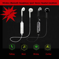 Wireless Bluetooth Headphone Sport Stereo Headset Earphone For Samsung iPhone AU