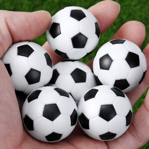 6Pcs Indoor Table Soccer Balls Replacement 32mm Mini Footballs Replacement Tool
